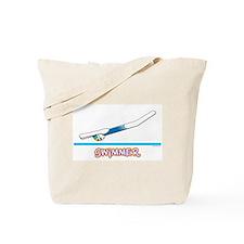 Swimmer (Girl) Tote Bag
