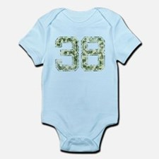 38, Vintage Camo Infant Bodysuit