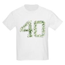 40, Vintage Camo T-Shirt
