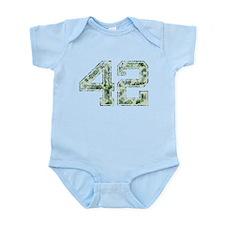 42, Vintage Camo Infant Bodysuit