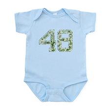 48, Vintage Camo Infant Bodysuit