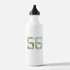 56, Vintage Camo Water Bottle