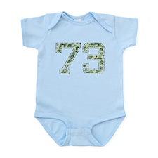 73, Vintage Camo Infant Bodysuit