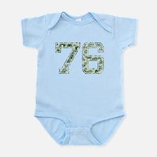 76, Vintage Camo Infant Bodysuit