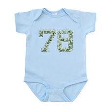 78, Vintage Camo Infant Bodysuit