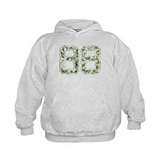 88, Vintage Camo Hoodie