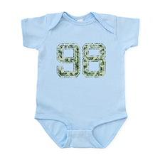 98, Vintage Camo Infant Bodysuit