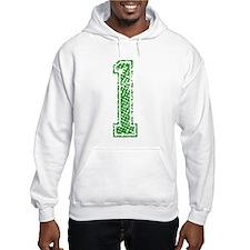 1, Green, Vintage Jumper Hoody