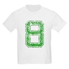 8, Green, Vintage T-Shirt