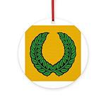 Laurel Medallion (gold)