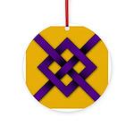 Midrealm Purple Fret medallion