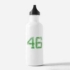 46, Green, Vintage Water Bottle