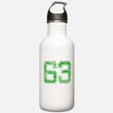 63, Green, Vintage Water Bottle