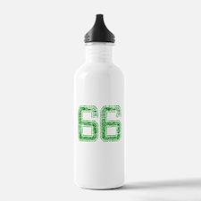 66, Green, Vintage Water Bottle
