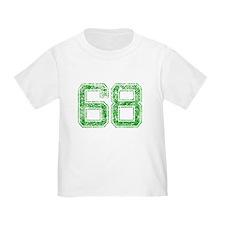 68, Green, Vintage T