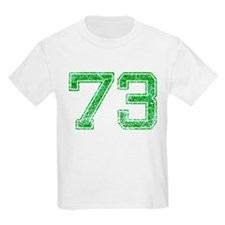 73, Green, Vintage T-Shirt