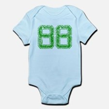 88, Green, Vintage Infant Bodysuit