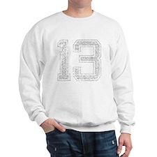 13, Grey, Vintage Sweatshirt