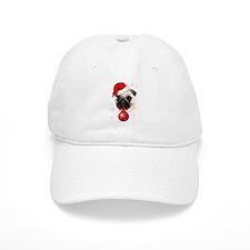 A Very Merry Christmas Pug Baseball Cap