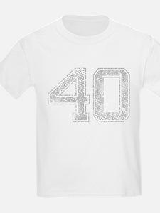 40, Grey, Vintage T-Shirt