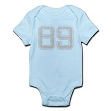 89, Grey, Vintage Infant Bodysuit
