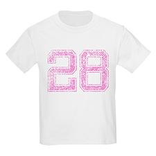 28, Pink T-Shirt