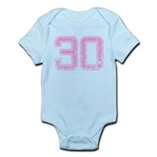 30, Pink Infant Bodysuit