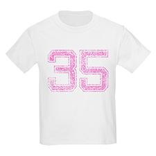 35, Pink T-Shirt