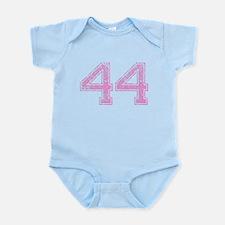 44, Pink Infant Bodysuit