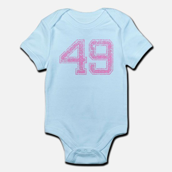 49, Pink Infant Bodysuit