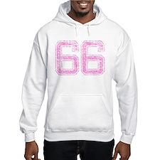 66, Pink Hoodie