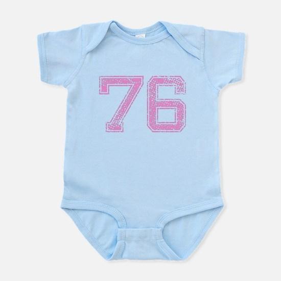 76, Pink Infant Bodysuit