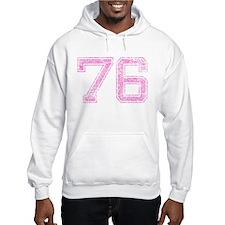 76, Pink Hoodie