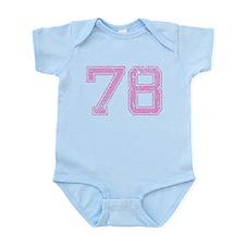 78, Pink Infant Bodysuit