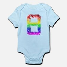 8, Gay Pride, Infant Bodysuit