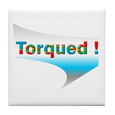 Torqued! Tile Coaster