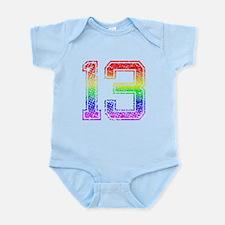 13, Gay Pride, Infant Bodysuit
