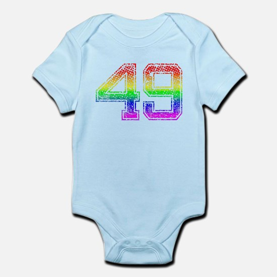 49, Gay Pride, Infant Bodysuit