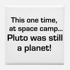Pluto Tile Coaster