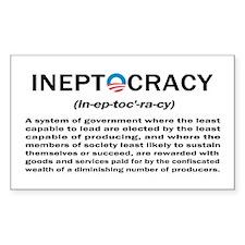 Ineptocracy Decal