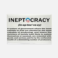 Ineptocracy Rectangle Magnet