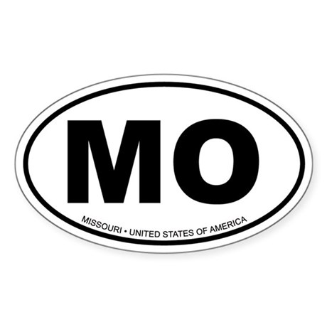 Missouri Oval Sticker