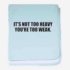 Weak lifter baby blanket