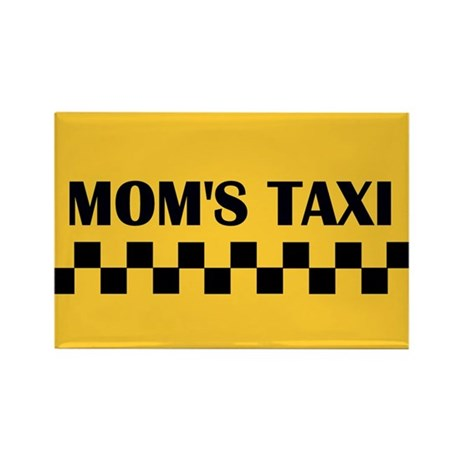 Mom's Taxi Rectangle Magnet (10 pack)