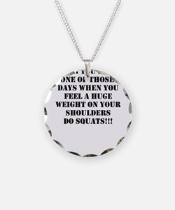 Squat the world Necklace