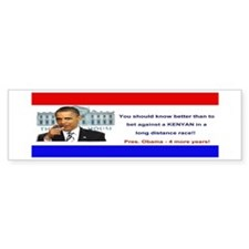 Obama Bumper for KENYA Bumper Sticker