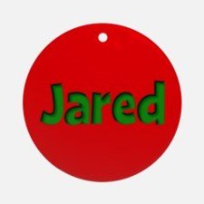 Jared Red and Green Ornament (Round)