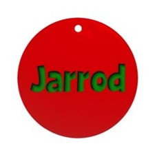Jarrod Red and Green Ornament (Round)