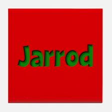 Jarrod Red and Green Tile Coaster