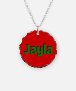Jayla Red and Green Necklace